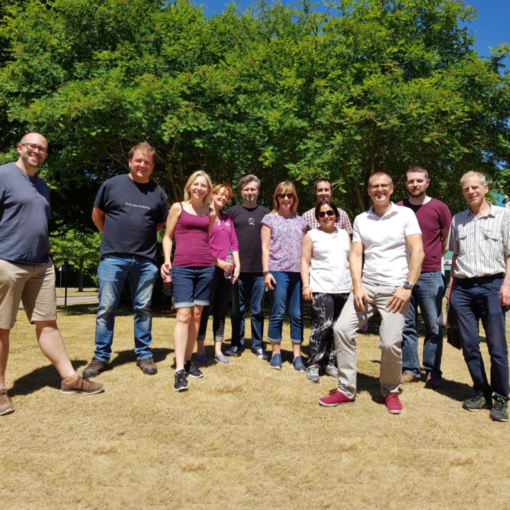 RDT staff go on a social lunchtime walk