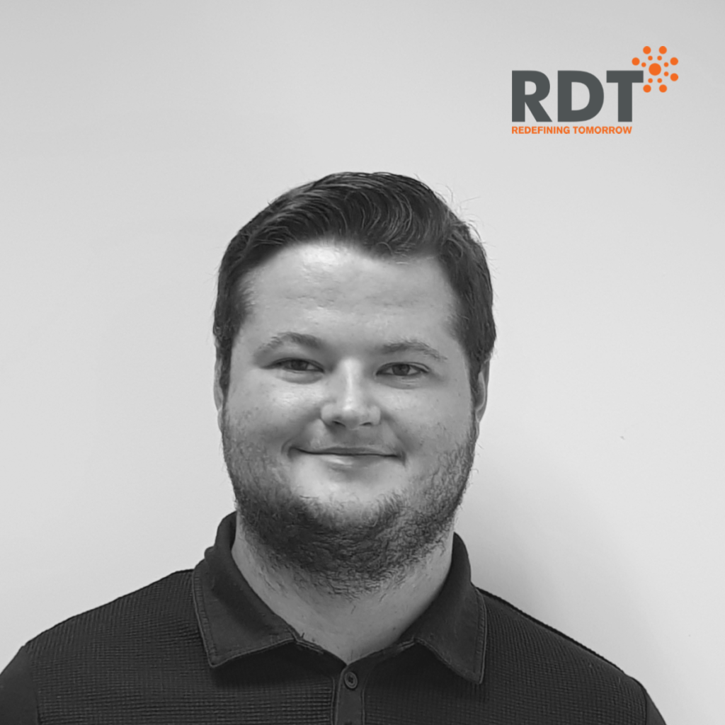 Trainee software engineer completes his work experience at RDT