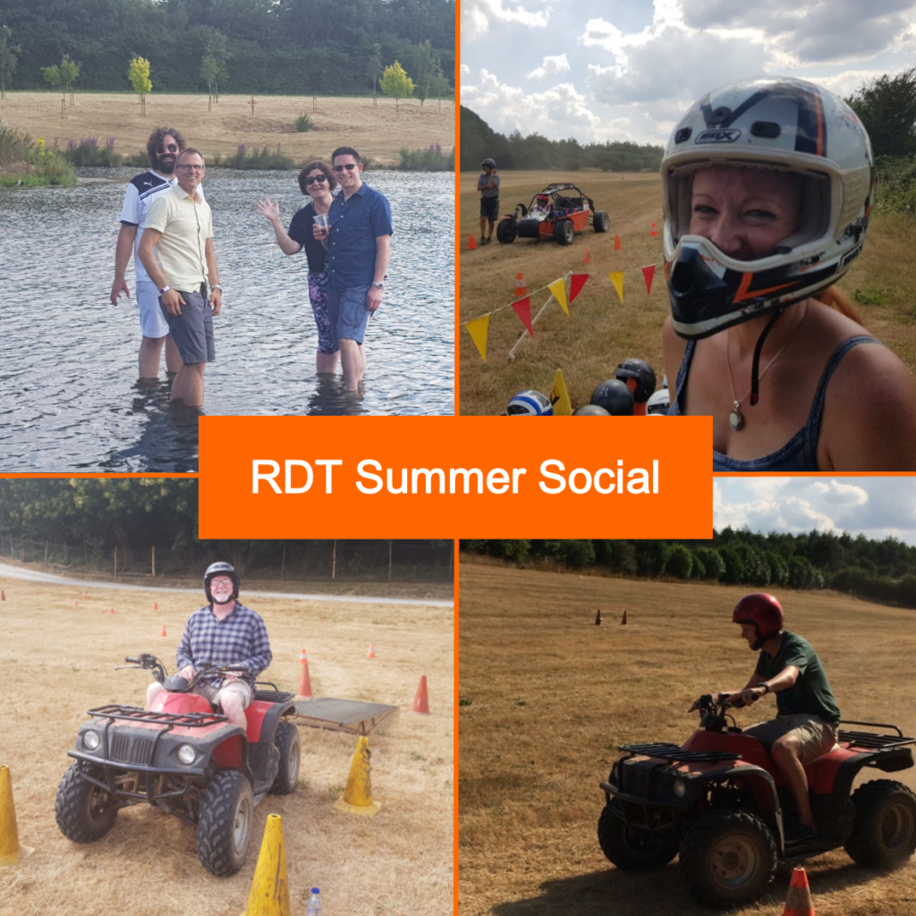 RDT Ltd employees enjoy their staff summer social event