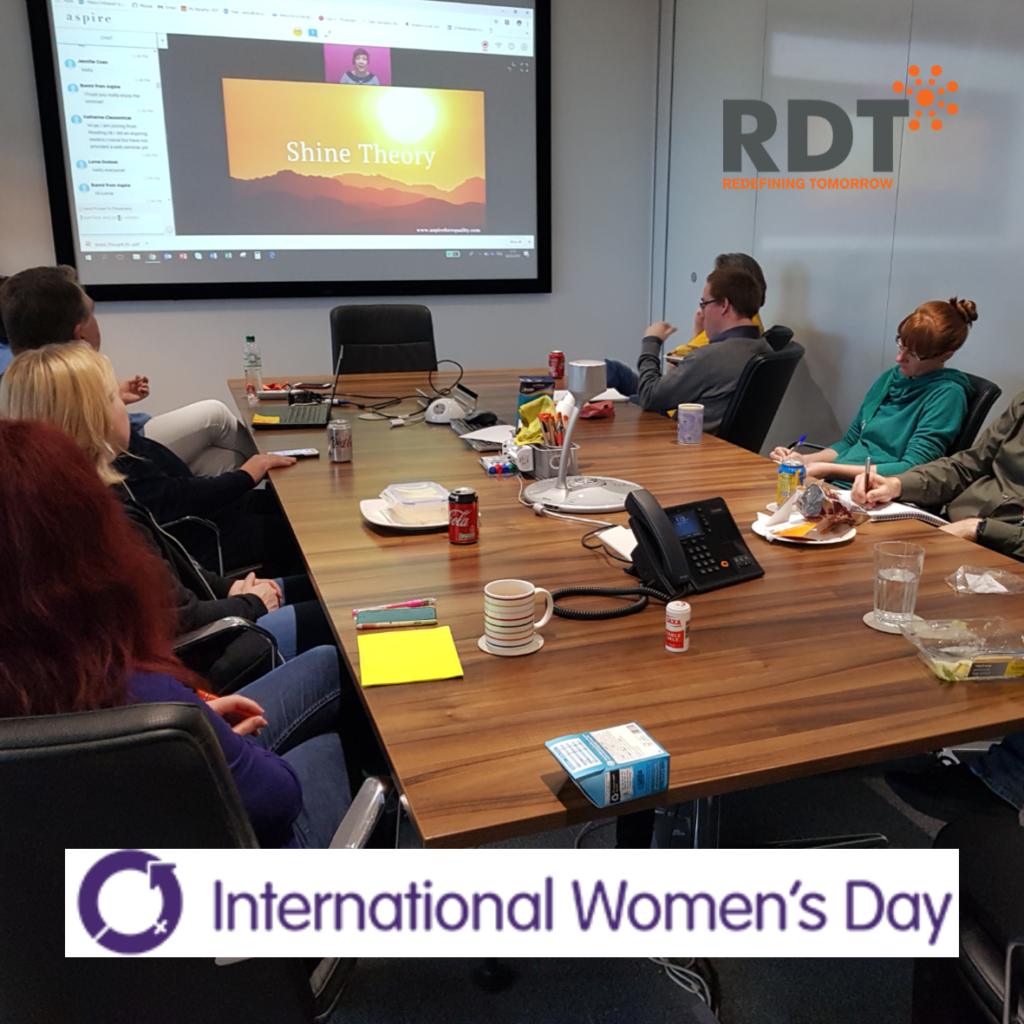 RDT staff celebrate International Women's Day