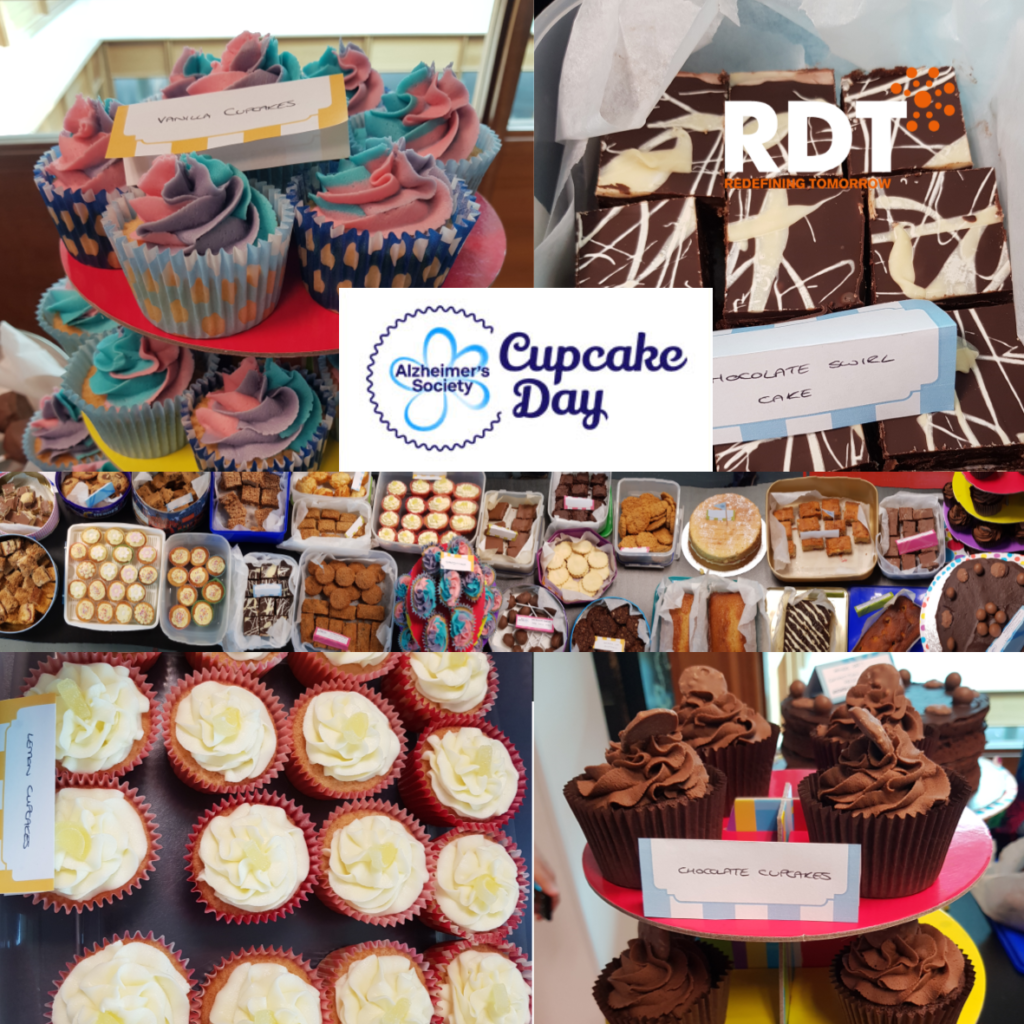 Alzheimers Society Cupcake Day at RDT HQ