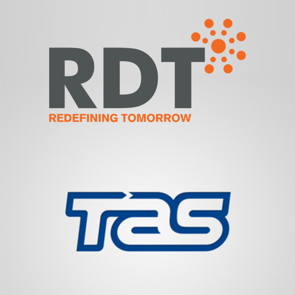 RDT partners with end-to-end solution provider TAS