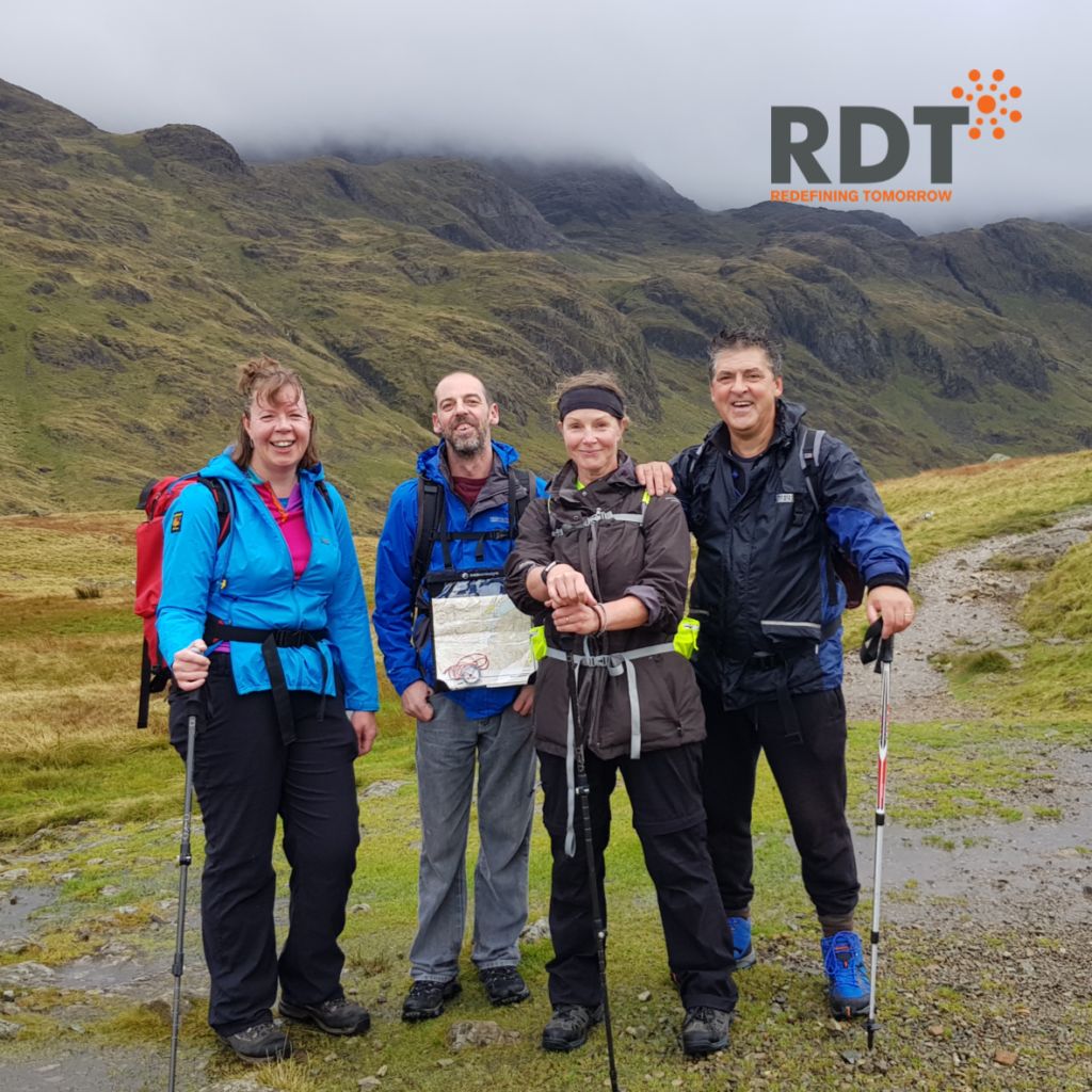 RDT employees climb Scafell Pike