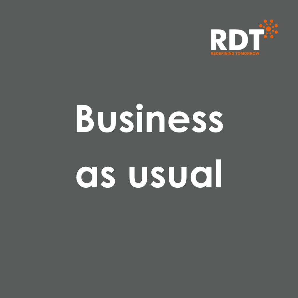 Business as usual at RDT