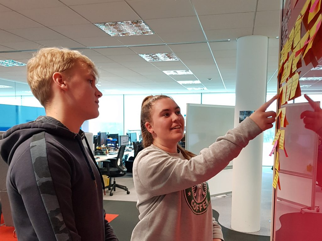 RDT Apprentices Tom and Phoebe